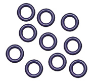 PTFE Coated Viton O-rings for GE Cyclonics, Nebulizer Seal (PKT 10)